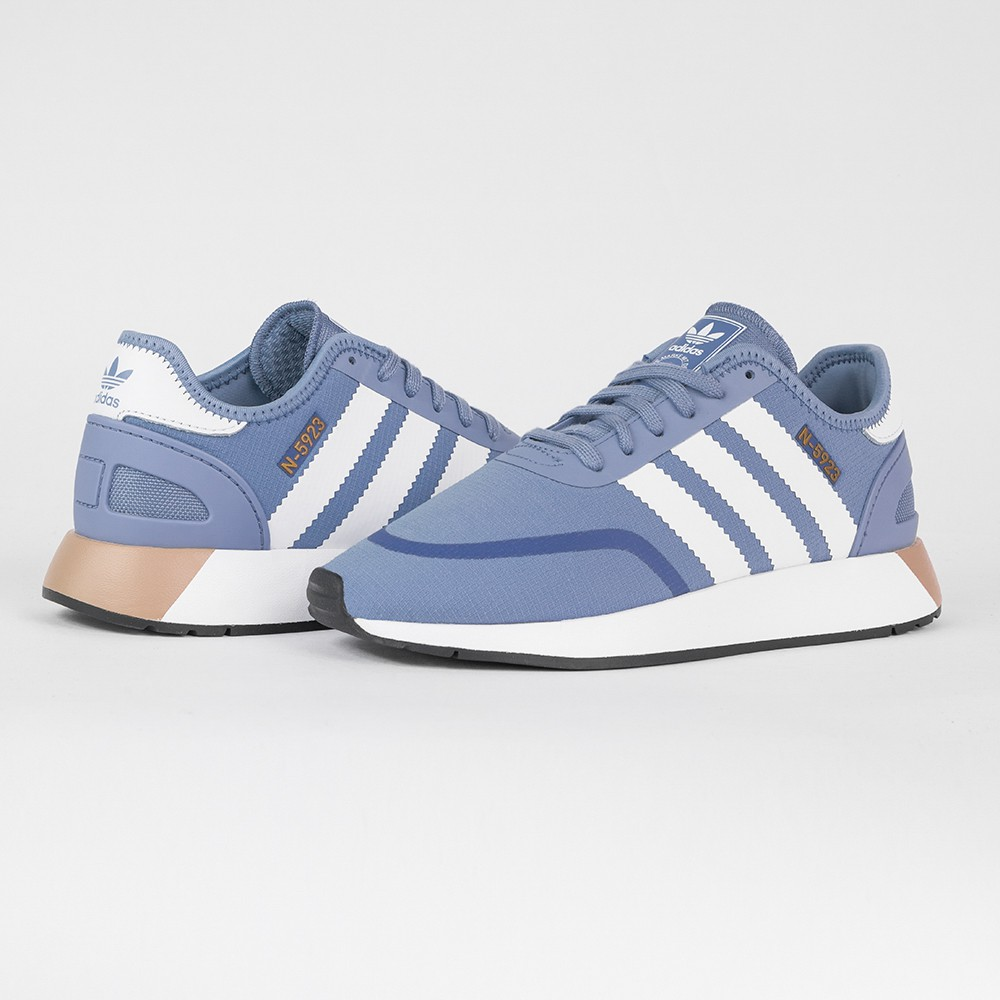 Adidas Originals N5923 藍 平民版 AQ0268