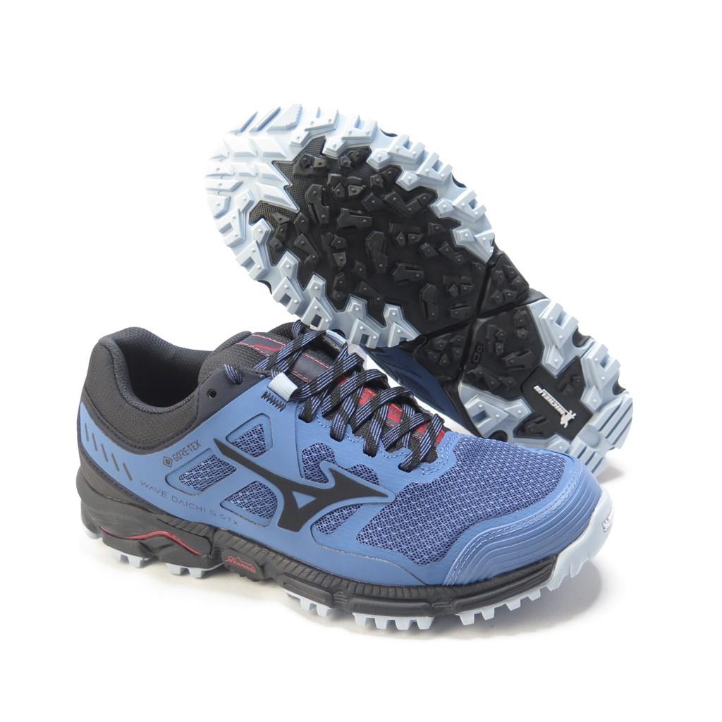 Mizuno WAVE DAICHI 5 GTX 慢跑鞋 J1GK205616 女款 藍黑【iSport 愛運動】