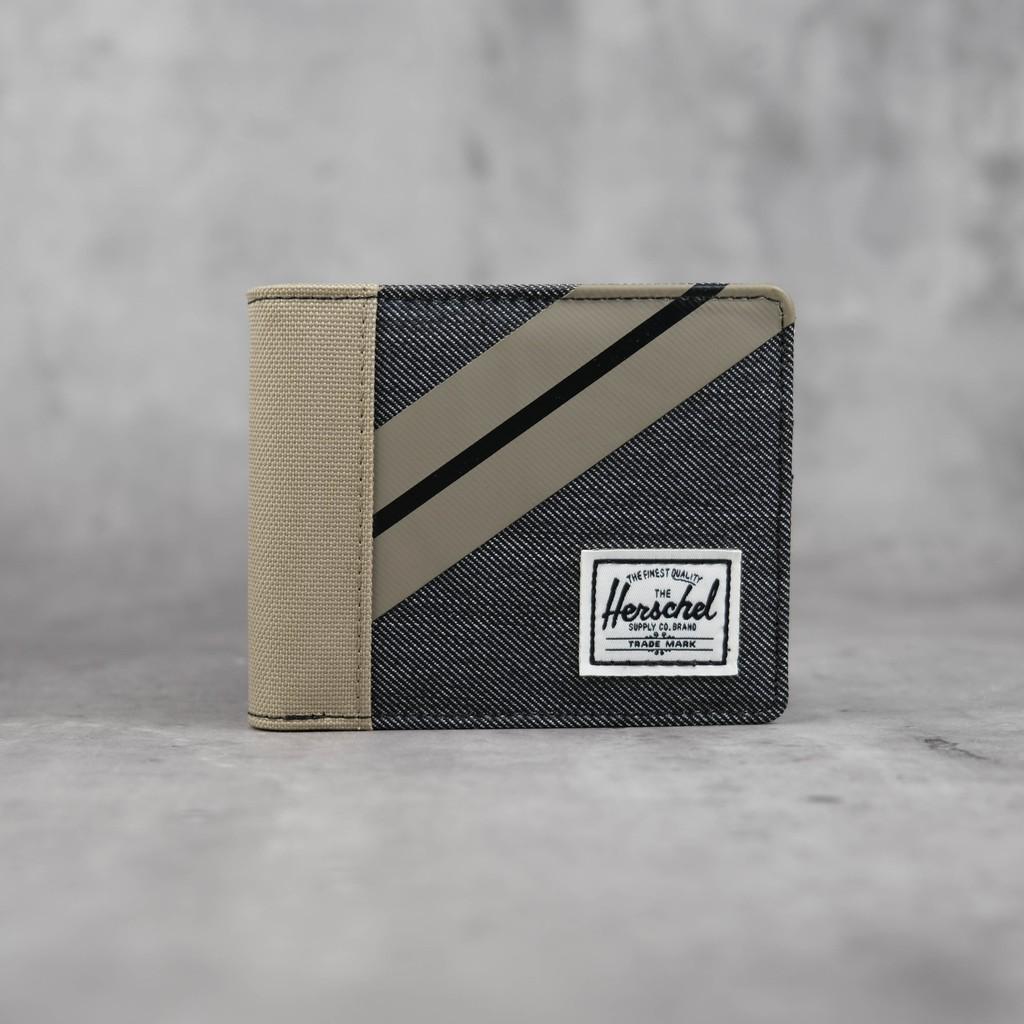 Herschel Roy Coin Wallet RFID Timberwolf 10766-04514-OS