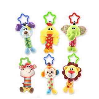 【優惠卷+現貨+3折】0-1歲寶寶益智玩具手抓球嬰兒車掛件搖鈴 床掛3-12個月嬰兒鈴鐺球