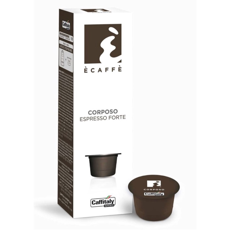 🇮🇹 Caffitaly 頂級Black Jack重焙咖啡Corposo伯朗咖啡膠囊 燦坤Tiziano膠囊咖啡機