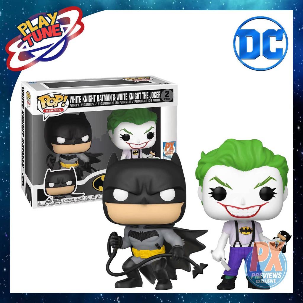 [頑星球] (預購 8月發行) FUNKO POP! DC: Batman - White Knight (PX獨家)