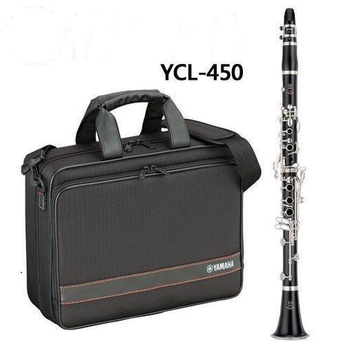 【【蘋果樂器】】No.255 全新山葉豎笛,黑管,單簧管YAMAHA YCL-450-03,YCL-450,按鍵鍍銀~