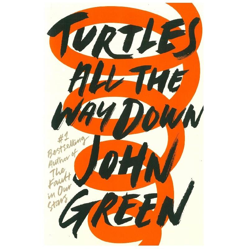 Turtles All the Way Down《尋找無限的盡頭》 John Green 青少年英文小說
