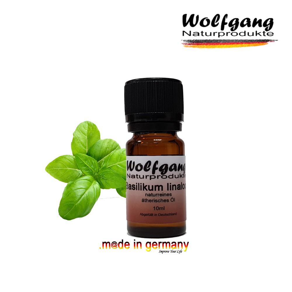 德國Wolfgang 羅勒芳樟醇精油 10ml《德國原裝》