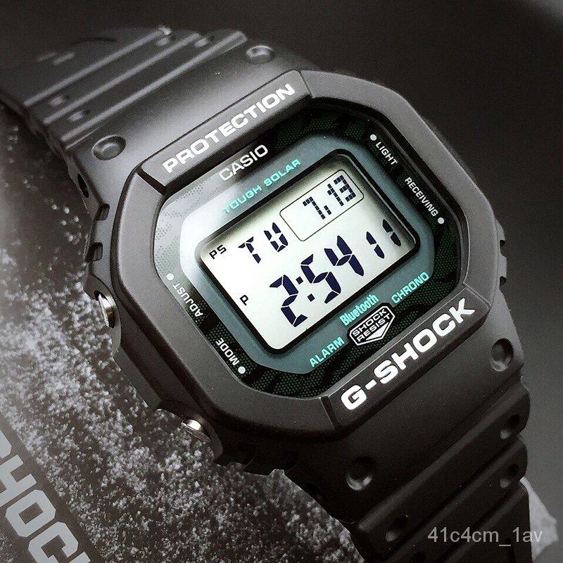 卡西歐王一博同款G-SHOCK硬碰硬系列 太陽能手錶GW-B5600MG-1