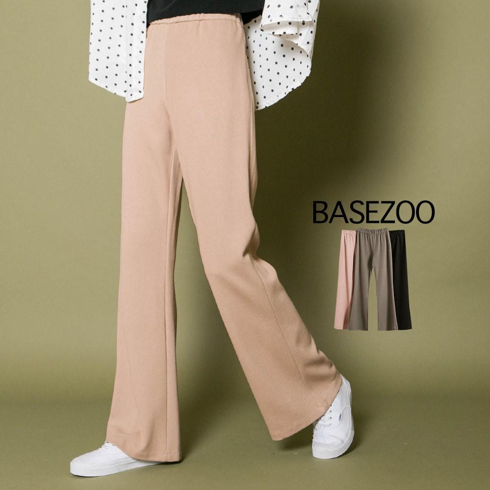 貝思奇-長腿小喇叭落地長褲(4色)【S350812】