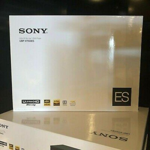 看描述 可刷 Sony UBP-X1100ES 可改全區,讀外掛,中文介面 可改你機 可刷