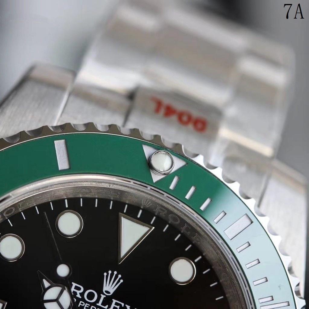 ROLEX 勞力士 男生手錶 潛航者水鬼 綠水鬼 v11最新款 6點方向皇冠標誌