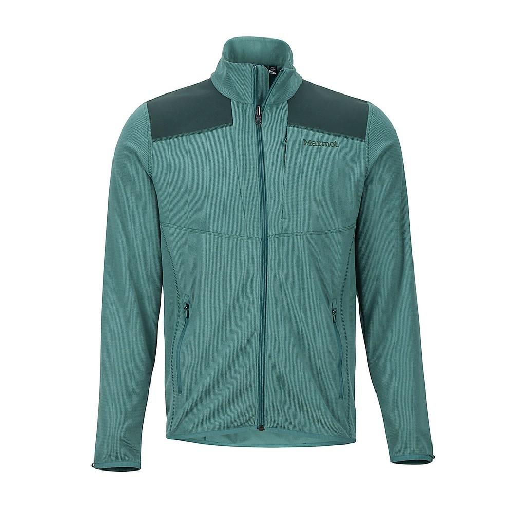 【Marmot 美國】Reactor Jacket 保暖刷毛外套 綠頭野鴨/深色雲杉 84120