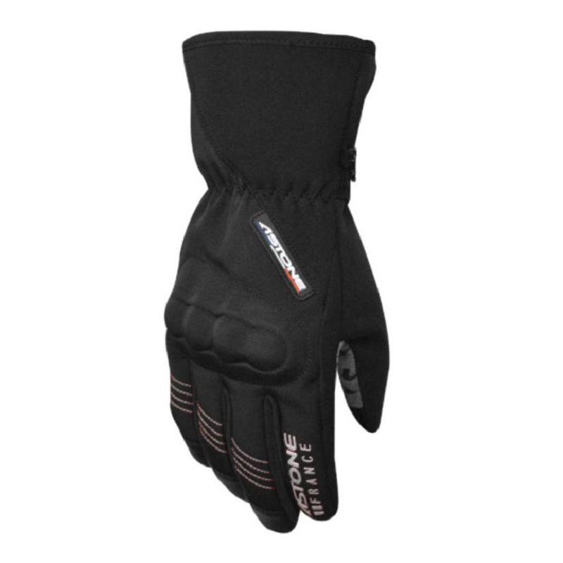 Astone GA50 黑銀 潛水布材質 防水 透氣 防風 防寒 保暖鎖溫 可觸控 隱藏式護塊 手套《淘帽屋》