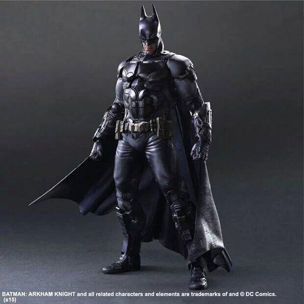 【可動】Play arts 蝙蝠俠 BATMAN PA改 阿甘 超級英雄 DC英雄 正義黎明 超人大戰