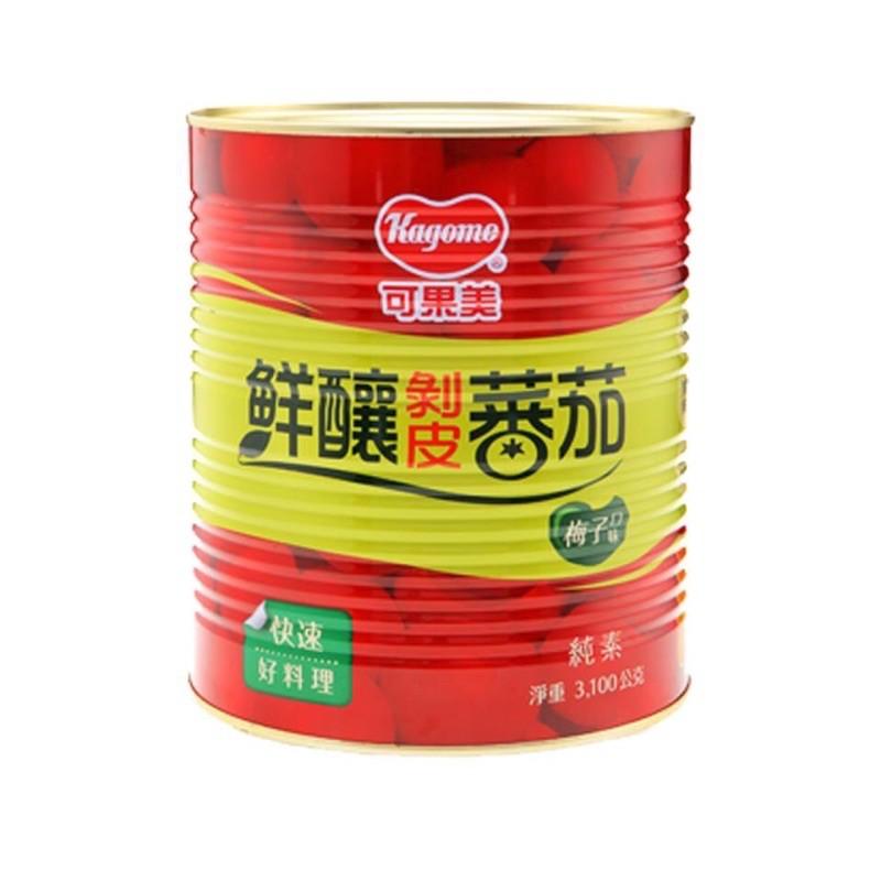 可果美鮮釀剝皮蕃茄 原味 、梅子3.1kg