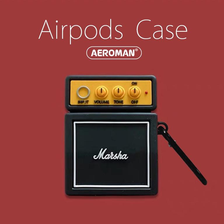 airpods 保護套 pro 音箱 音響 喇叭 無訊號 復古 電視 個性 潮流 設計