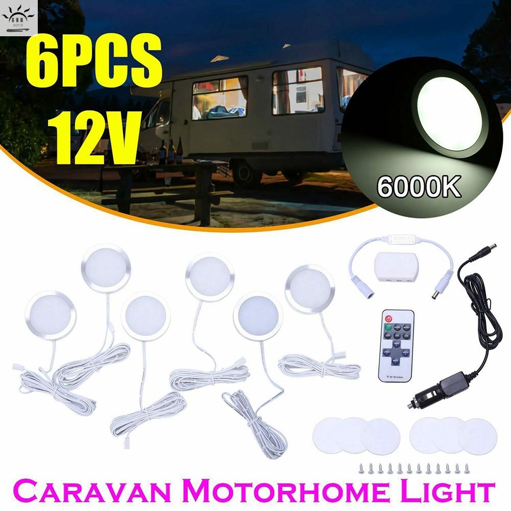 可調T4 T5房車燈露營車6x室內LED聚光燈12V [名俱扬 MJY5]