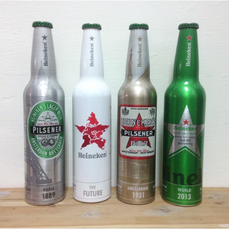 海尼根140週年紀念鋁瓶(無紙盒)