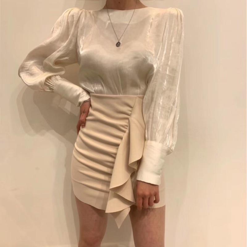 ✔️現貨🇰🇷Korea韓國連線·正韓 絲緞光澤上衣 ohanna ohanna miyuki select