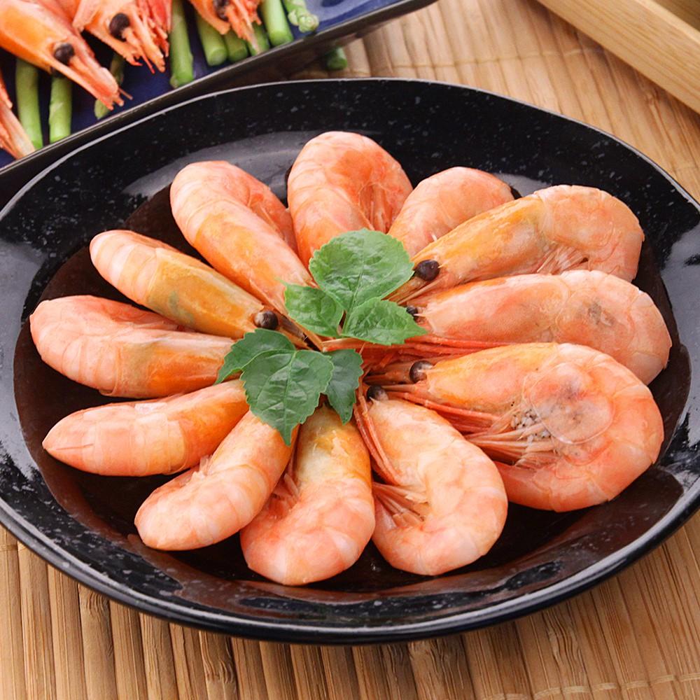 【食吧-任選】爆膏特甜北極甜蝦*1包組(250g±10%/包)