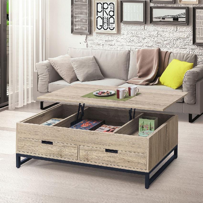 【121cm升降茶几-E376-2】實木原木玻璃 大理石長方桌 大小邊几 圓桌 【金滿屋】