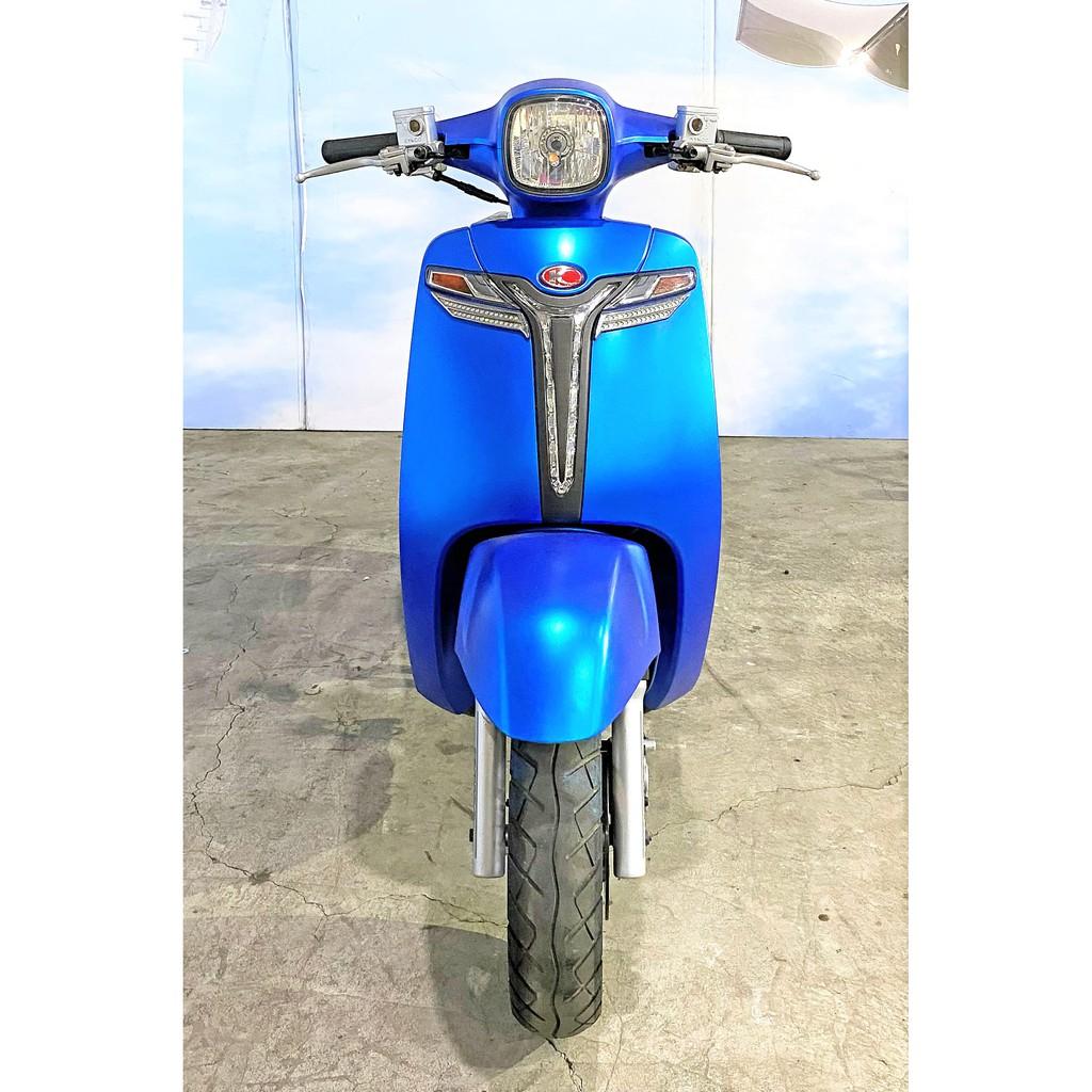 Kymco/光陽 many 125 水鑽 雙碟 藍色 2015年5月 里程數13702