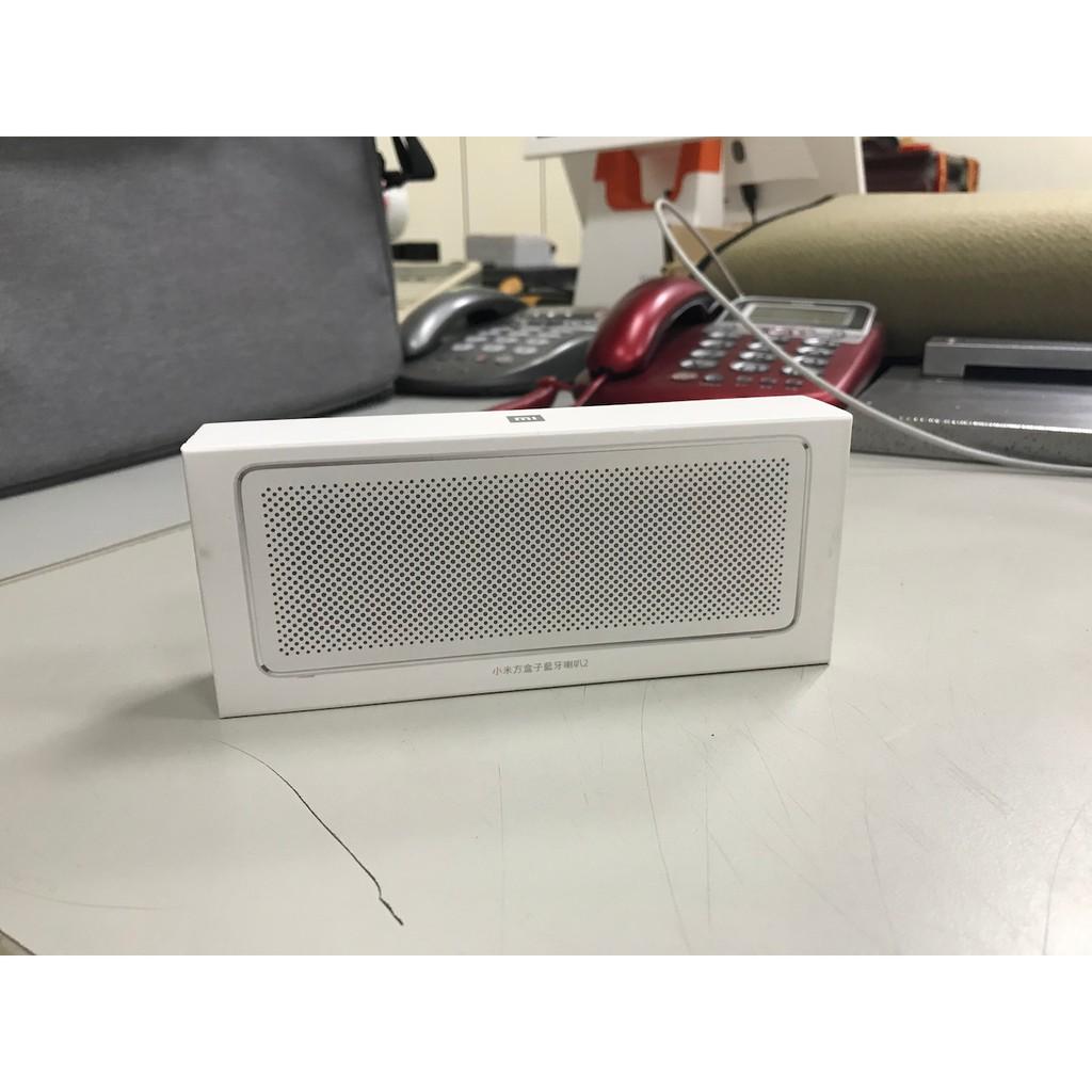 【凱文小舖】二手 小米方盒子藍牙喇叭 2 保固至2021/5/6