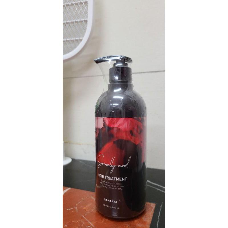 全新 BANANAL 韓國 香水 潤髮乳 紅絲絨木香