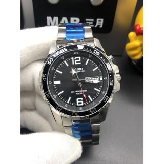 Casio-卡西歐 MTD-1079D系列 男士手錶 指針刻度夜光 LED背光燈 防水防震運動錶 電子錶 男士腕錶 桃園市