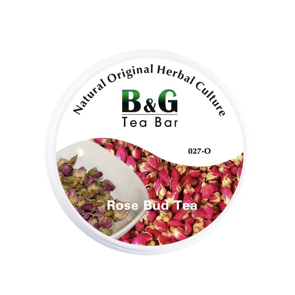 B&G 德國農莊 Tea Bar 德國純玫瑰花苞茶-圓鐵罐(16克)