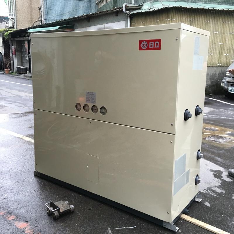 「宏啟空調」日立 20RT 三相220v 水冷式冰水主機