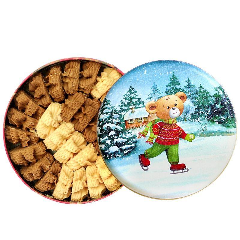乖乖熊香港代購 珍妮餅乾 小熊餅乾 聰明小熊 奶油曲奇 四味奶油曲奇
