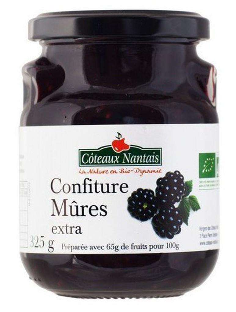 ☆Bonjour Bio☆ 法國 COTEAUX NANTAIS 有機果醬 黑莓 (桑葚 / 桑椹)