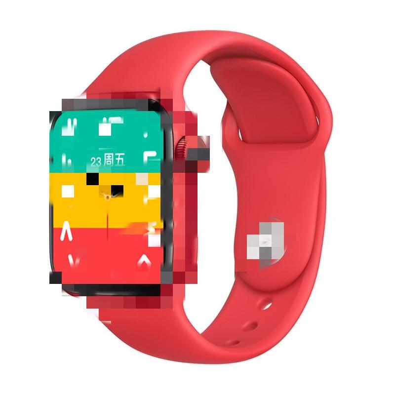 新款跨境T500+plus分屏顯示運動表盤心率血壓血氧通話智能手表