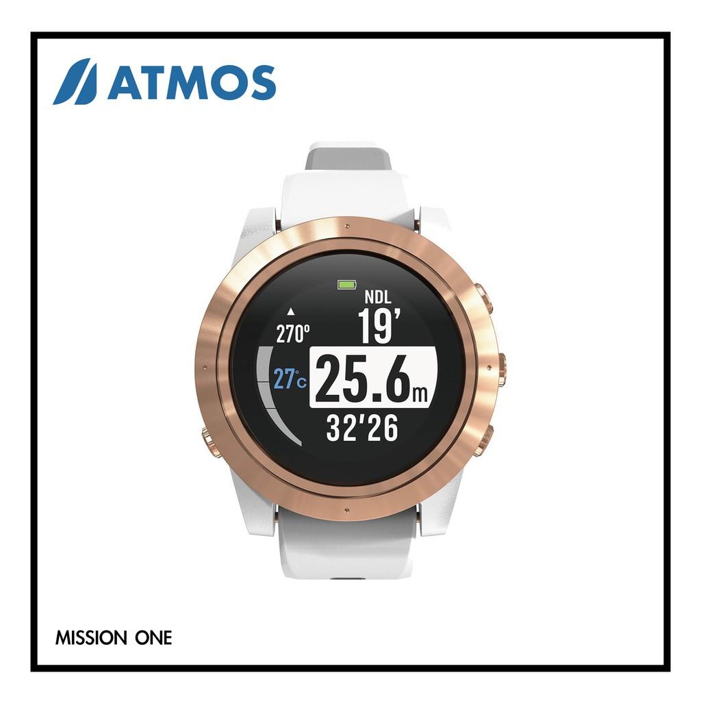 【預購】潛行者事務所 ATMOS Mission One 潛水電腦錶 MIT 100米防水 自由潛水 水肺潛水