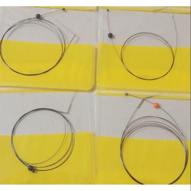日本Daiwa,Shimano原裝中通船竿專用穿線鋼絲,鎳鈦記憶鋼絲,有分振出型與並繼型2種