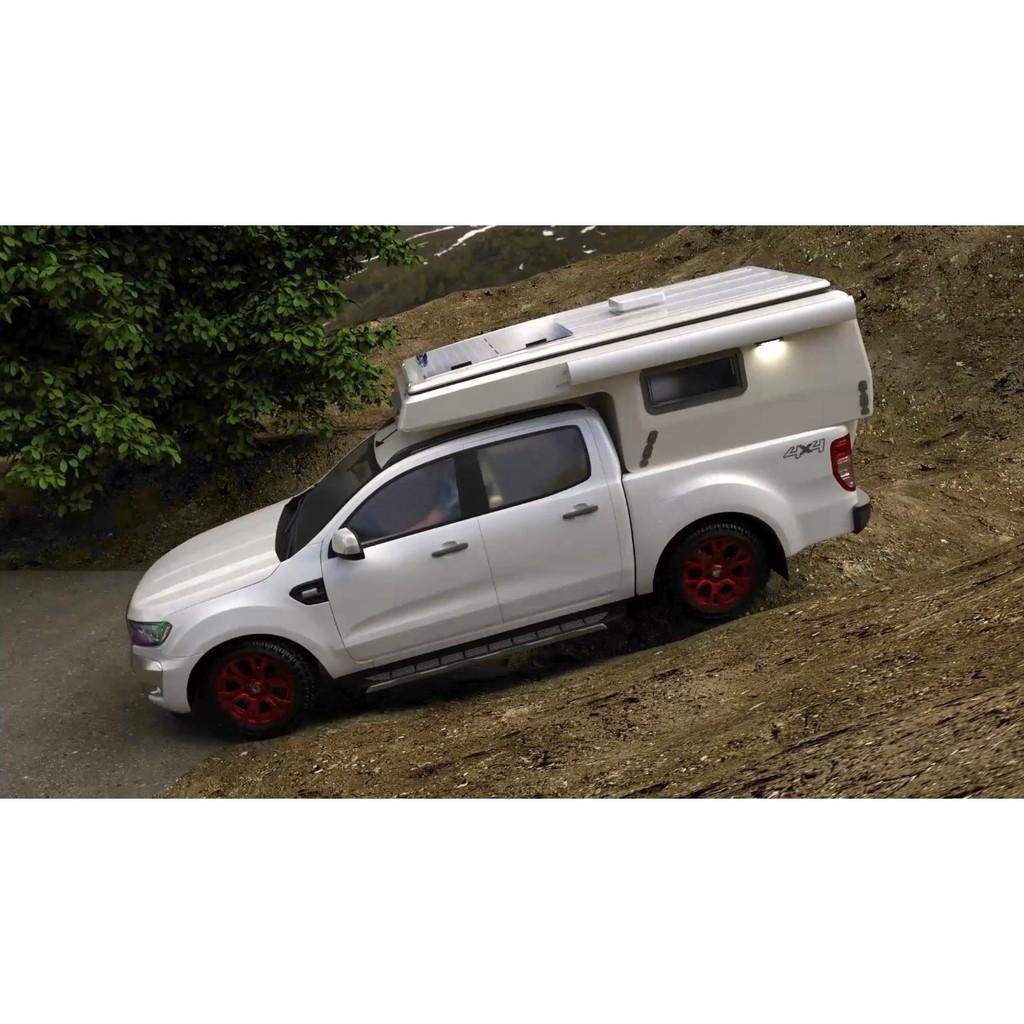 皮卡專用露營車廂一體成形