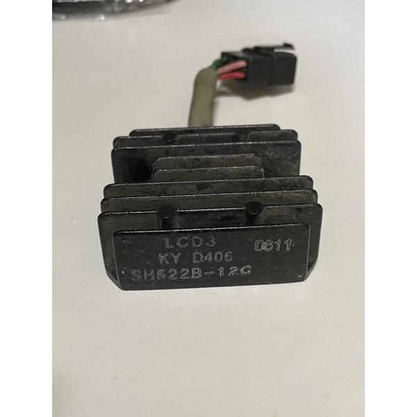 光陽機車整流器 LCD3 GP125原廠化油器(拆車良品)