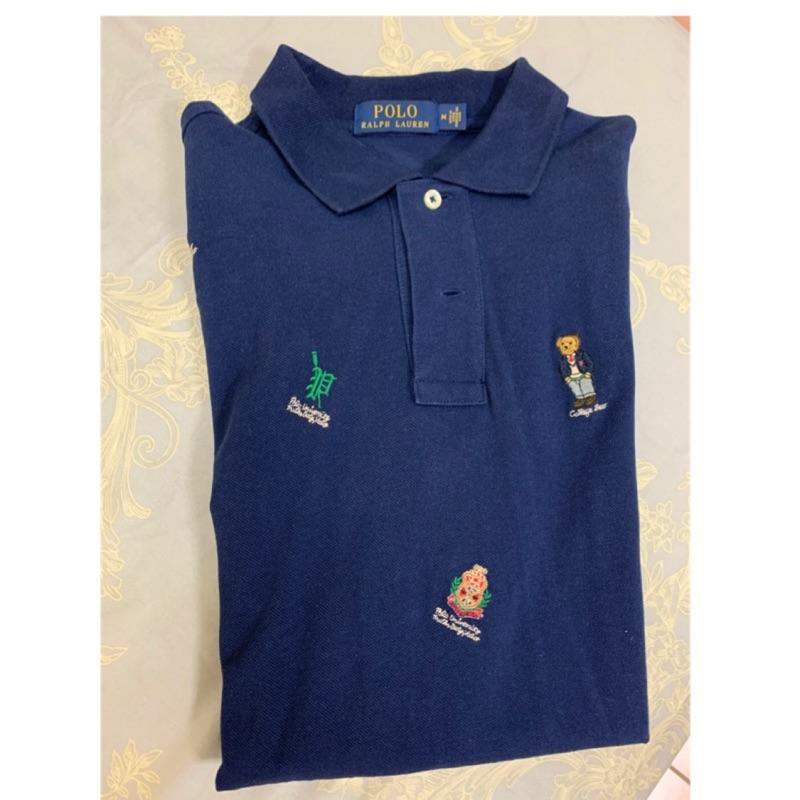 Polo Ralph Lauren 滿版小熊刺繡Polo shirt