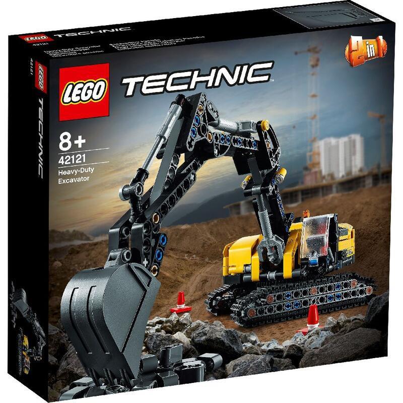 【周周GO】LEGO 樂高 42121 Technic 科技系列 重型挖土機