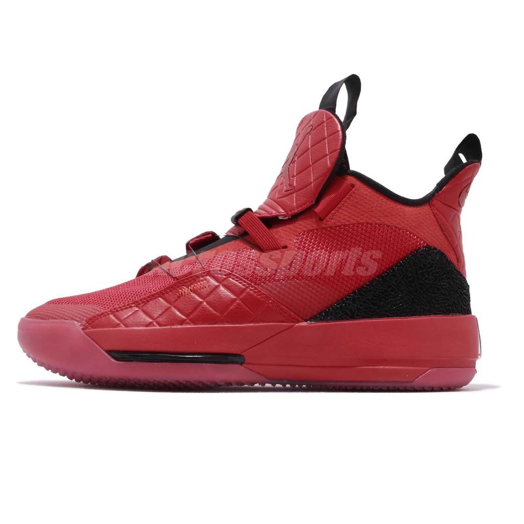 Nike Air Jordan XXXIII 紅 黑 喬丹 33代 男鞋 籃球鞋 BV5072-600【ACS】