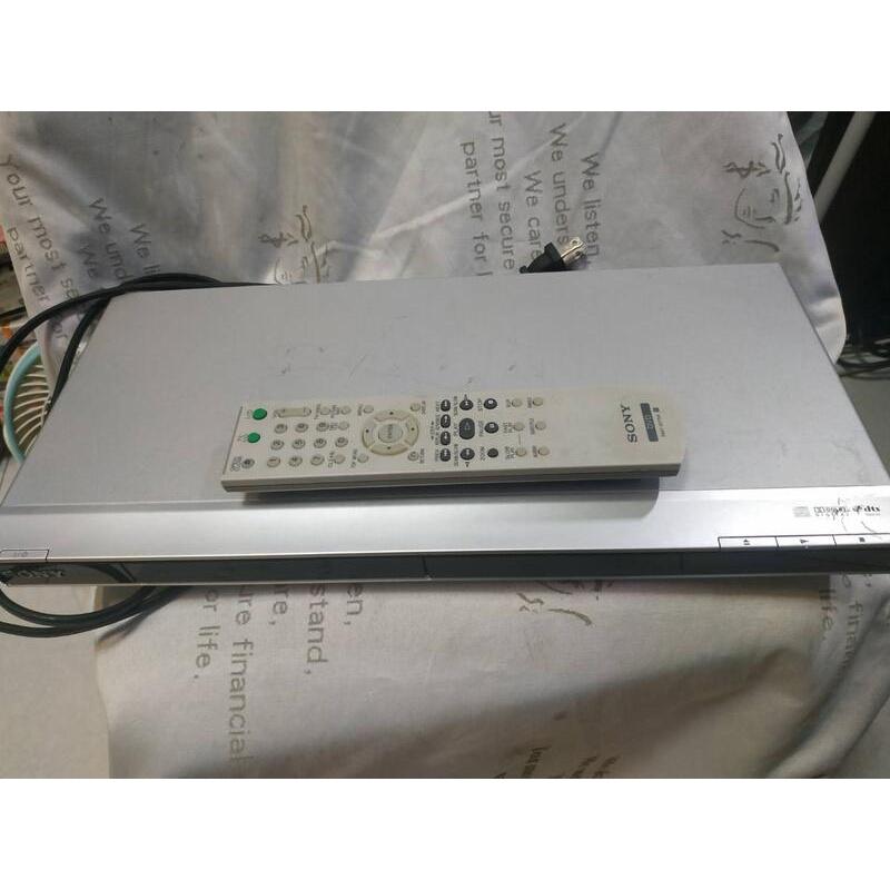 經典質感 稀有美型 SONY DVP-NS508P DVD Player DVD播放機 有遙控器 功能正常 已過保