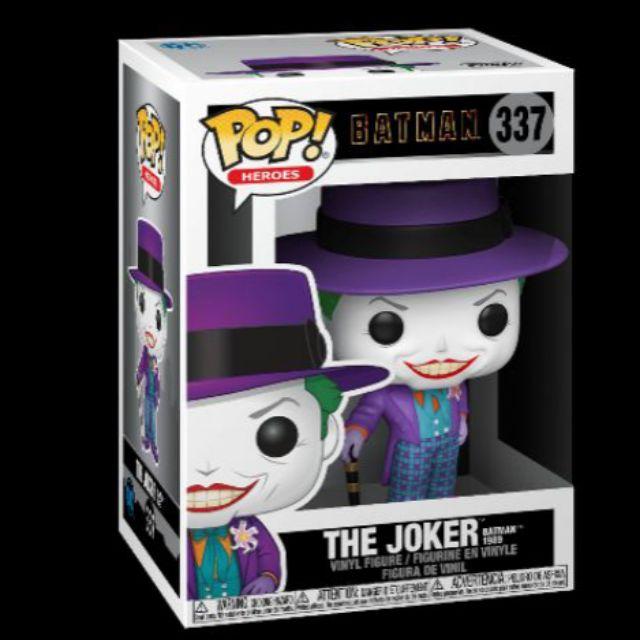 柴寶趣 FUNKO POP 337 蝙蝠俠 小丑 THE JOKER 1980 BATMAN 正版