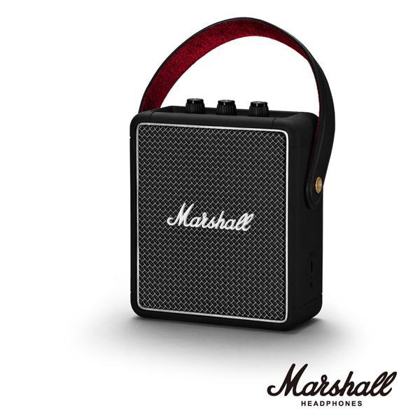 MARSHALL STOCKWELL II BLACK攜帶型藍牙喇叭/ 經典黑 eslite誠品