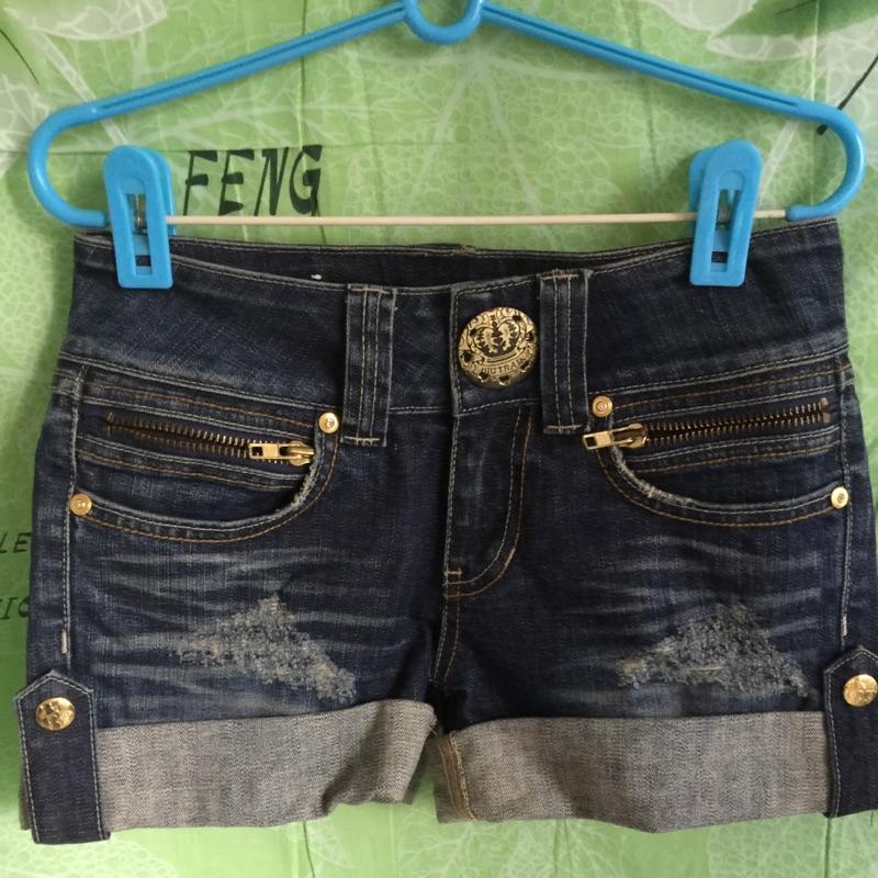 BIG TRAIN牛仔短褲