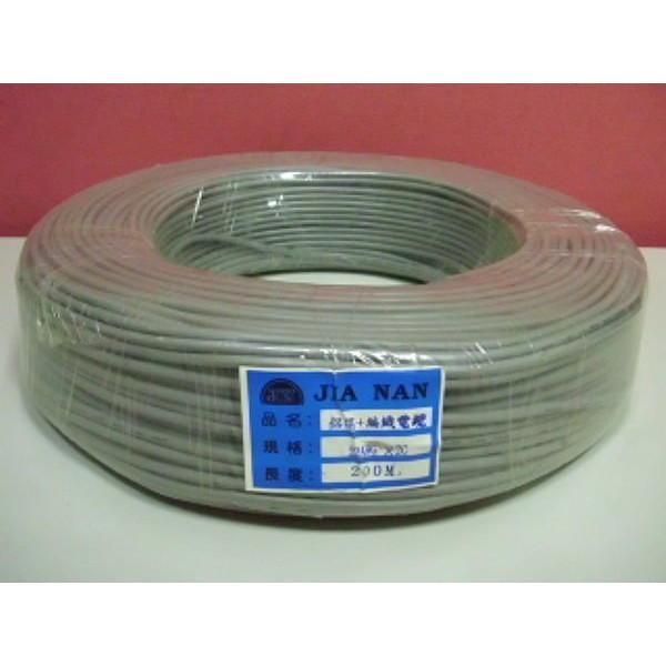 麥克風隔離線 22AGW*2C鋁箔加編織 非太平洋電線 宏泰電工 電腦線 台灣製