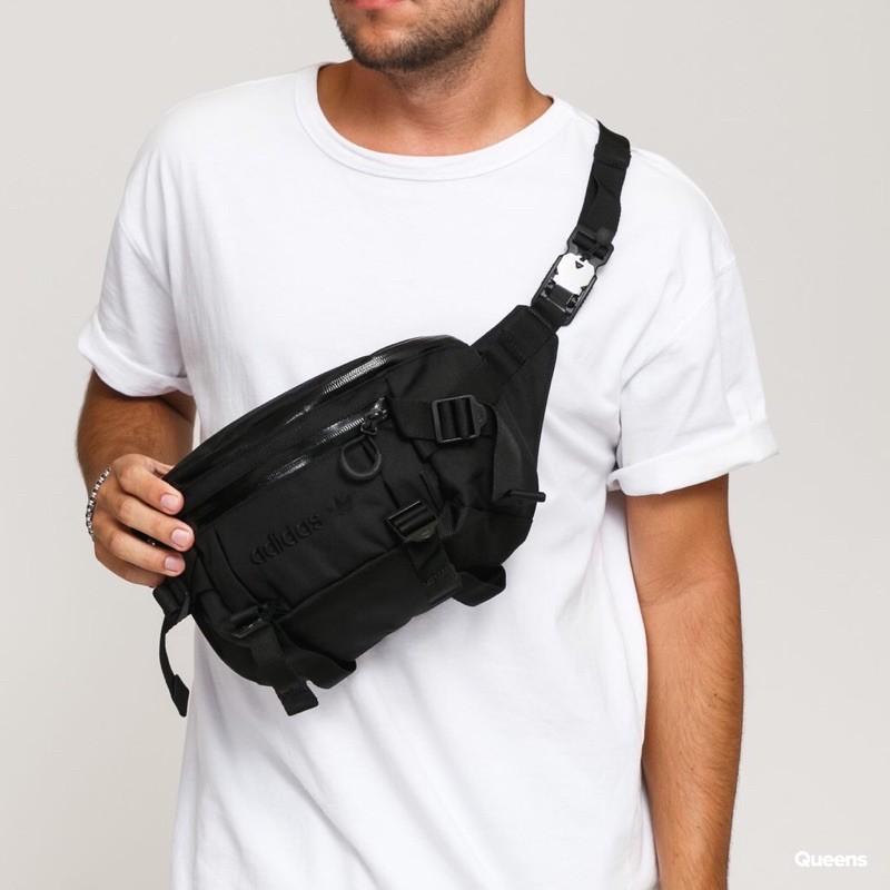 [poco韓國代購]#預購優惠 ADIDAS ADVNTR WB L GD5013 多功能 夾層 腰包 工裝腰包 側背包