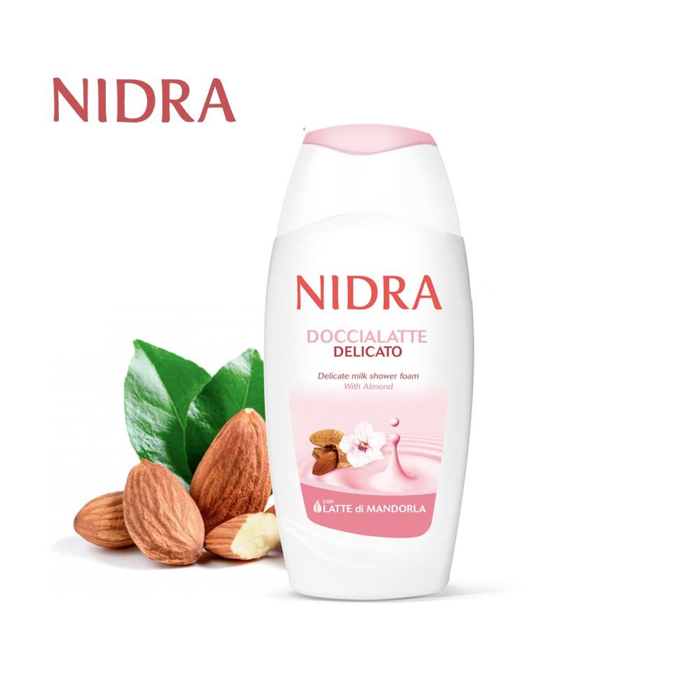 【NIDRA 妮德雅】極致呵護牛奶蛋白 潤膚沐浴乳 250ml (杏仁奶/溫和細緻)