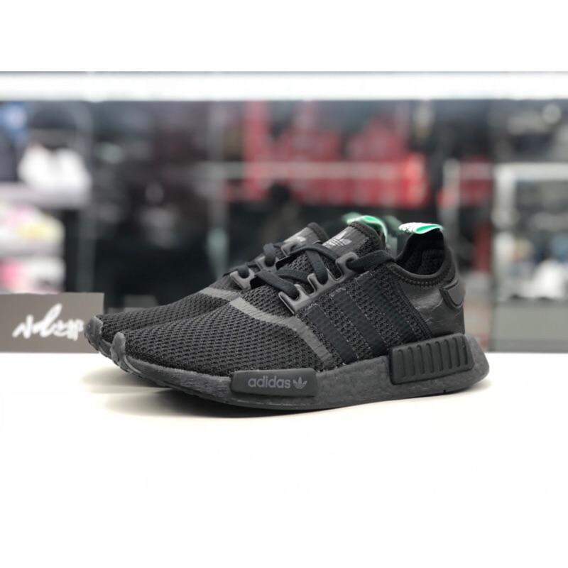 cb4d11c4cdda7 adidas Originals NMD R1 Boost 粉紅橘白BY3034 US 6~7 編織女鞋慢跑鞋 ...