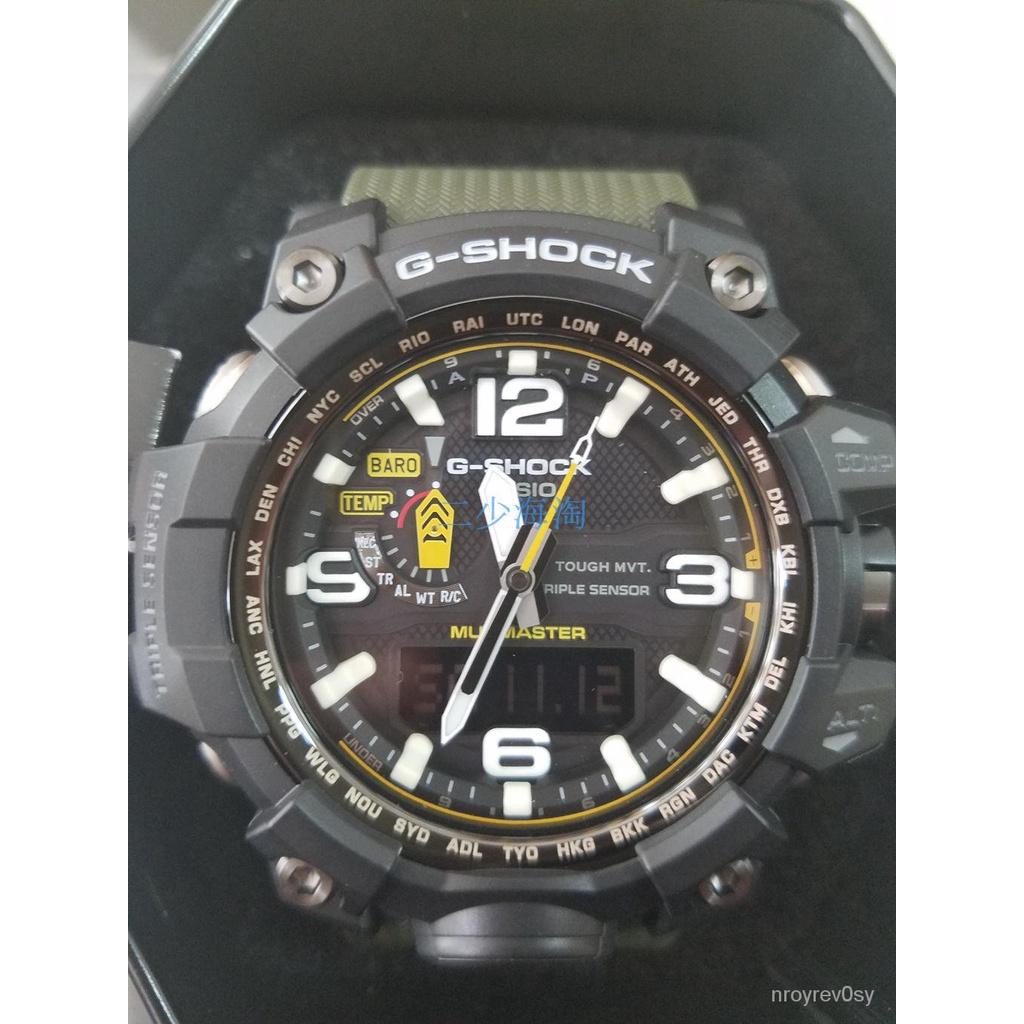 CASIO 卡西歐 G-SHOCK 泥王GWG-1000-1A3