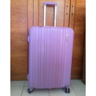 【花樣女孩】Samsonite新秀麗美國旅行者28吋擴充行李箱(紫色) 台中市