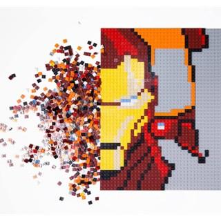 【樂GO】現貨 樂高LEGO 鋼鐵人馬賽克 限量版  76105  IRONMAN 鋼鐵人 附大底座  原廠正版